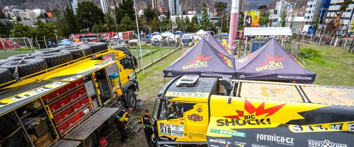 Octa Pro Tents on Rally Dakar 2017!