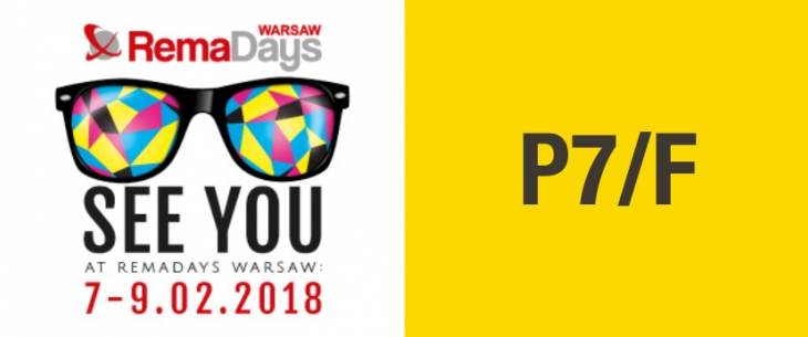 Visit us during Rema Days Warsaw 2018 at stand P7/F