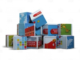 Advertising Cubes Rossne