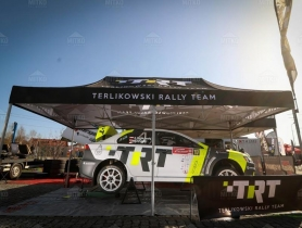 Service tent Octa Pro 3x6m manufactured for Terlikowski Rally Team