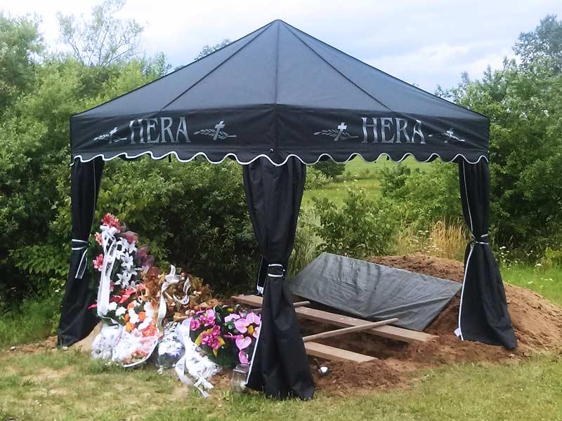 Namiot Pogrzebowy Mitkotent Premium 3x3 Hera & Namioty pogrzebowe MITKO - Namioty premium dla zak?adów pogrzebowych.